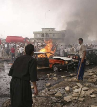Bombing in Kirkuk
